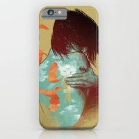 iPhone Cases featuring See It Through by Nanda Correa