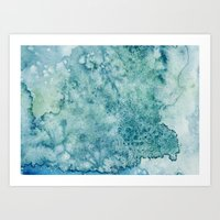 The Storm Within Art Print