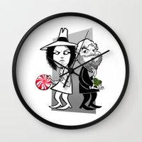 Jack vs. Jack Wall Clock
