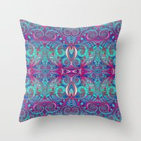 Indian Style G238 Throw Pillow