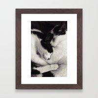 Like Mother, Like Daught… Framed Art Print