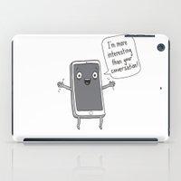 Distracting Little Phone iPad Case