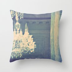 it's not meant to be. chandelier photograph Throw Pillow