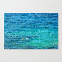 SPARKLE SEA Canvas Print
