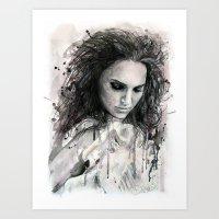 Black Swan - Natalie Por… Art Print