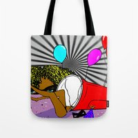 Whats In My Cup Tote Bag