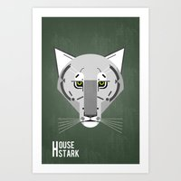 Game Of Thrones House St… Art Print