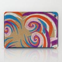 Snoozy Spiral iPad Case