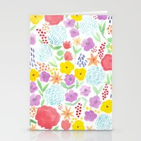 Les Fleurs Stationery Cards