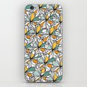 Floral Doodles iPhone & iPod Skin