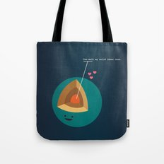 You Melt My Solid Inner Core Tote Bag