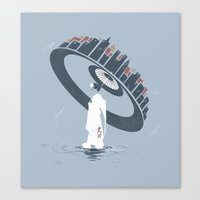 Raining 2 Canvas Print