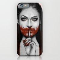 Man Eater iPhone 6 Slim Case