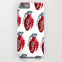 iPhone & iPod Case featuring Branding Wars Grenade by Freehand profit
