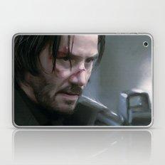 that nobody, is John Wick. Laptop & iPad Skin