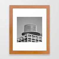 Urban Tetris Framed Art Print