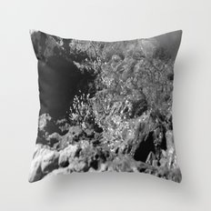Breaking Shore Throw Pillow