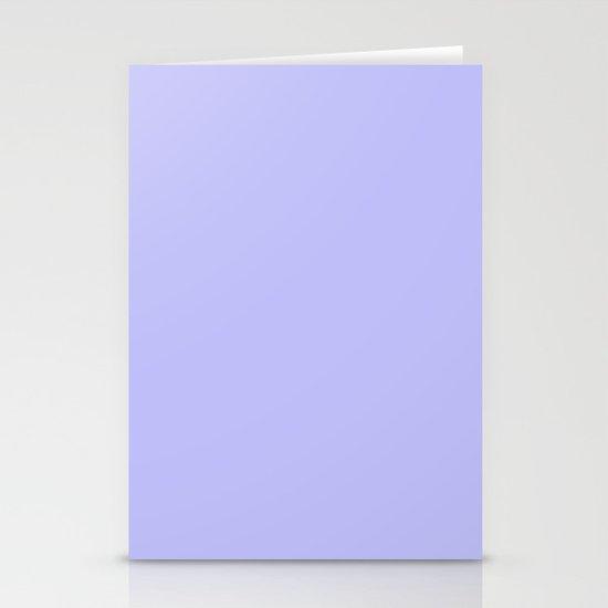 Bluish Purplish Stationery Card
