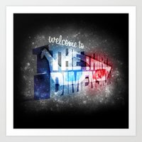 Welcome To The 3rd Dimen… Art Print