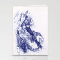 Wave Whip Stationery Cards