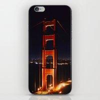 The Golden Gate iPhone & iPod Skin
