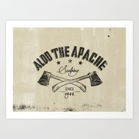 Aldo The Apache Art Print