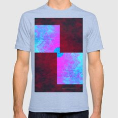 Sybaritic Mens Fitted Tee Tri-Blue SMALL
