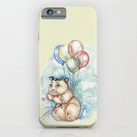 iPhone & iPod Case featuring It's never too late to fly by Annie illustrations