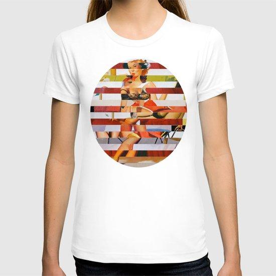 Glitch Pin-Up: Britney T-shirt