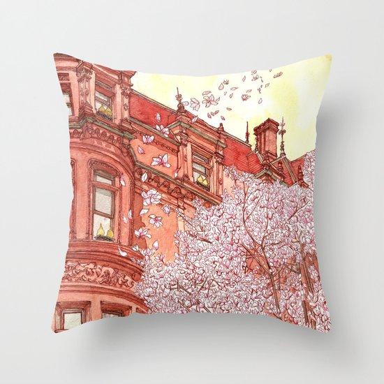 Bostonia Throw Pillow