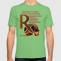 Depression or the Pain - 111 Mens Fitted Tee Grass SMALL
