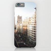 iPhone & iPod Case featuring Gran Vía by Delphine Comte