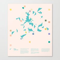 Mnemonic 1: Dear California — Matthew Korbel-Bowers  Canvas Print