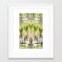 Arrow Neo Framed Art Print