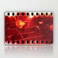 holga film x-processed, roses with brick Laptop & iPad Skin