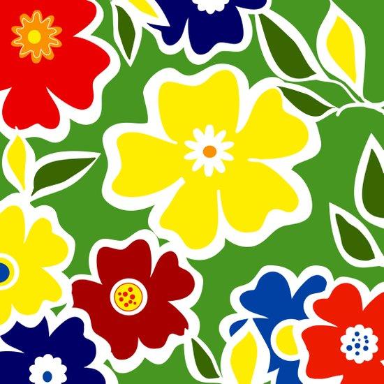Flowers Fullfilled  Art Print