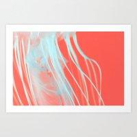 neon jelly Art Print