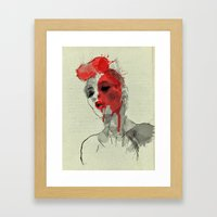 lost in dreams Framed Art Print