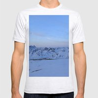Glen Alps 2 Mens Fitted Tee Ash Grey SMALL