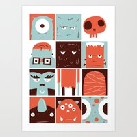 The Monster Club Art Print