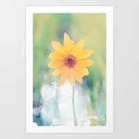 Little Flower Art Print