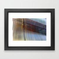 Structure Of Ephemera Framed Art Print