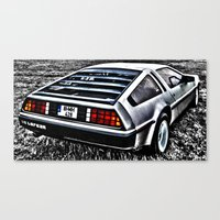 Where We're Going, We Don't Need Roads! Canvas Print
