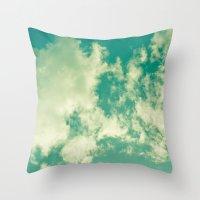 Clouds 024 Throw Pillow