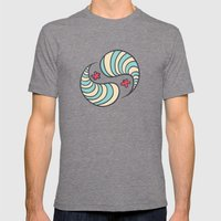 Strange bacterias Mens Fitted Tee Tri-Grey SMALL