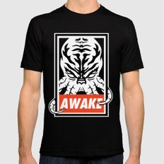 Awake. SMALL Black Mens Fitted Tee