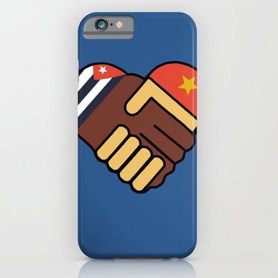 Hands Of Friendship iPhone & iPod Case