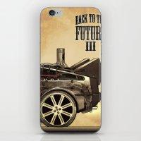 Back to the future III iPhone & iPod Skin