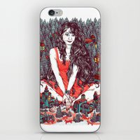 Three Eyed Girl iPhone & iPod Skin