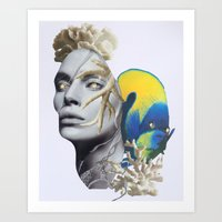 The Great Relief Art Print